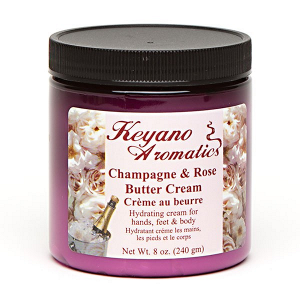 Champagne and Rose Butter Cream 8 oz.