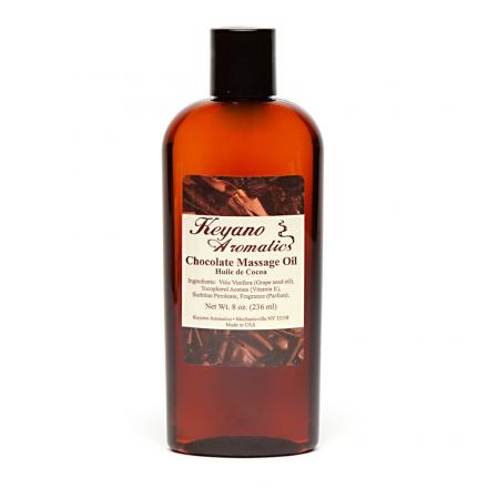 Chocolate Massage Oil 8 oz.