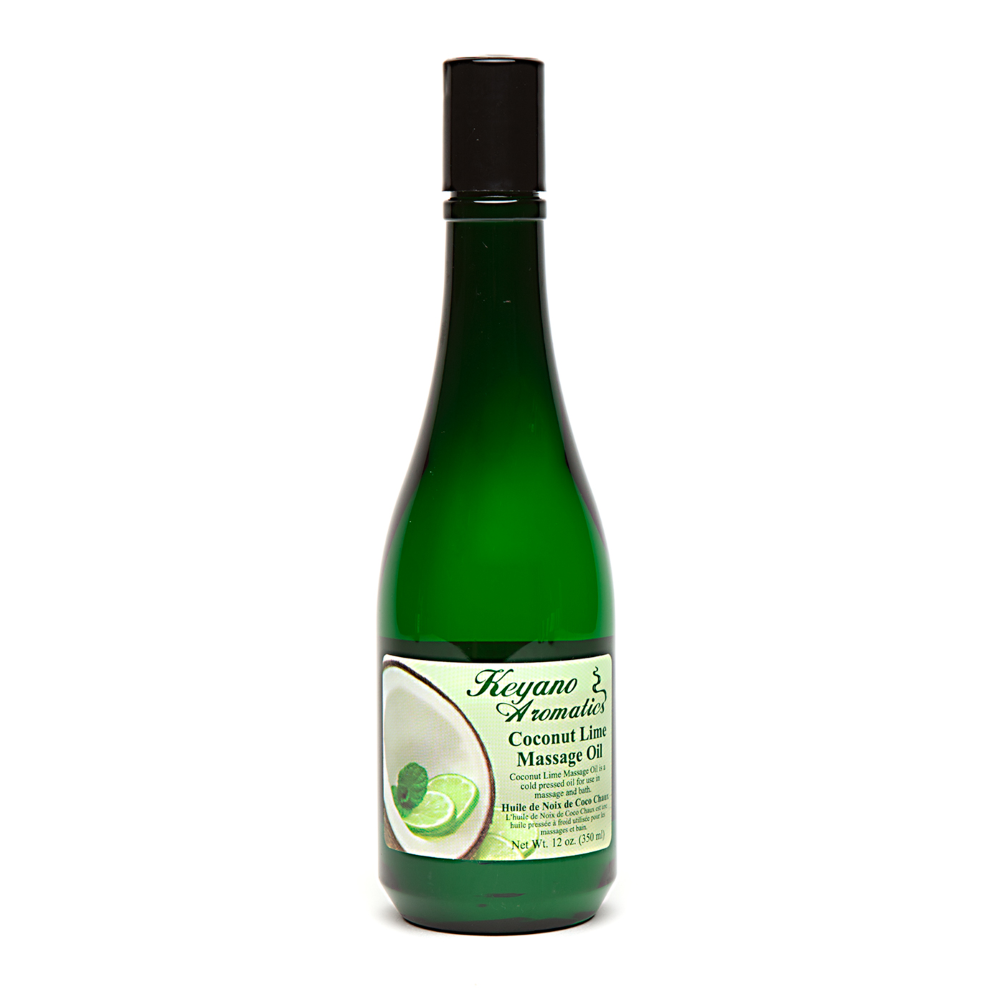Coconut Lime Massage Oil 12 oz.