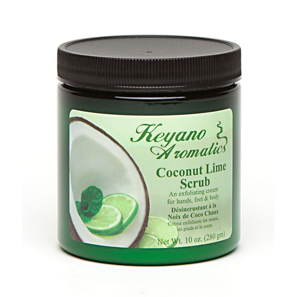 Coconut Lime Scrub 10 oz.