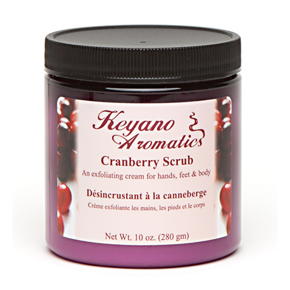 Cranberry Scrub 10 oz.